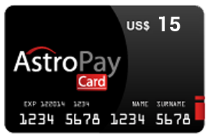 15 Dolar Astropay