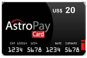 20 Dolar Astropay