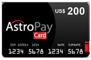200 Dolar Astropay