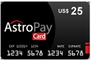 25 Dolar Astropay