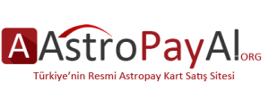 Astropay Kart - Astropay Kart Satın Al